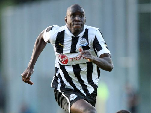 Demba Ba: Continues to be linked with Magpies exit