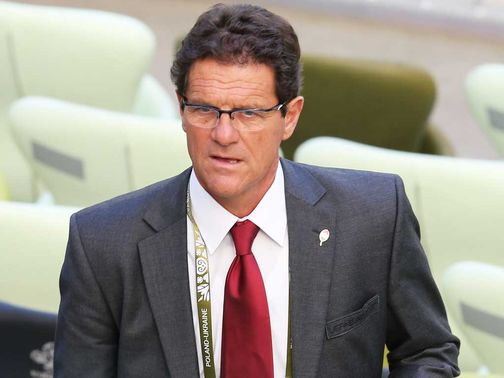 Fabio Capello: Expected to sign deal soon