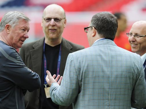 Sir Alex Ferguson: Has recently backed the Glazer family