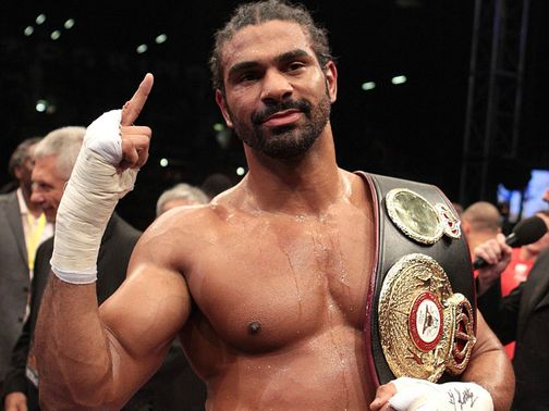 David Haye: Wants a British boxing licence