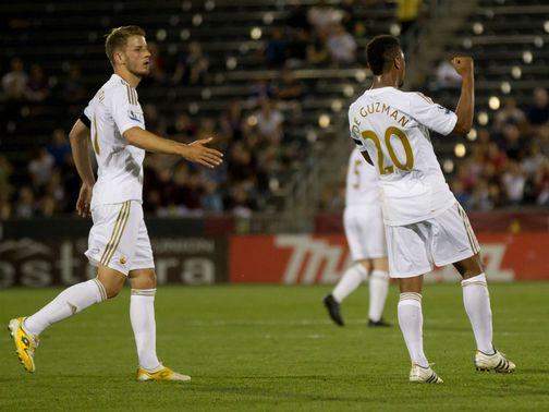 Jonathan de Guzman: Looking to impress