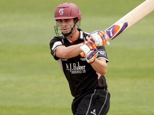 Craig Kieswetter: Brilliant hundred for Somerset