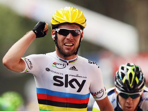 Mark Cavendish: Winner between Vise and Tournai