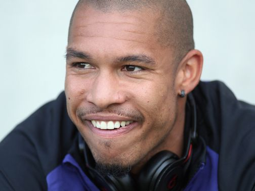 Nigel de Jong: &#39;I&#39;m playing football and I&#39;m happy here&#39;