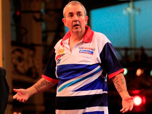 Phil Taylor: Faces Michael Smith first up