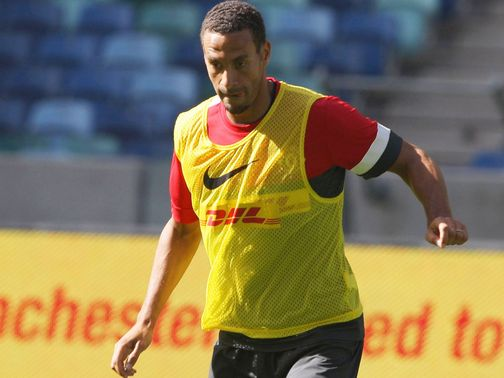 Rio Ferdinand: Focused on Manchester United