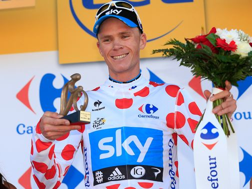Chris Froome: Highly regarded by Roche
