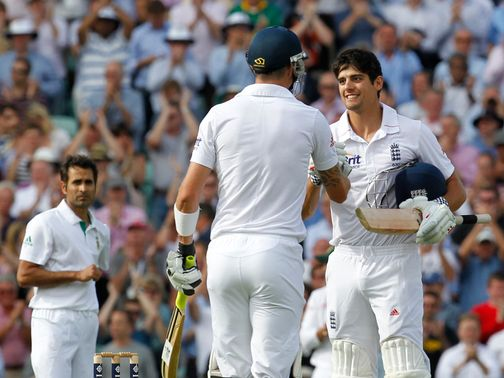 Alastair Cook: 20th Test century