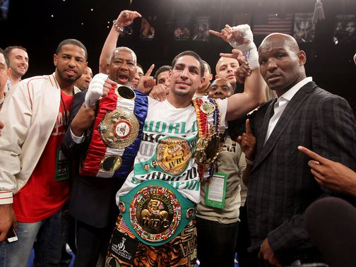 Danny Garcia: Fights Morales next