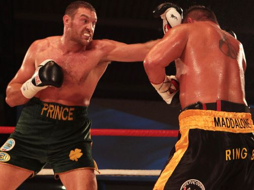 Tyson Fury: Thinking about a world title shot and not David Price