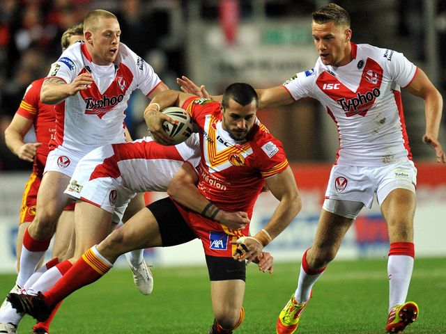 Vincent Duport: Two tries for Catalan Dragons