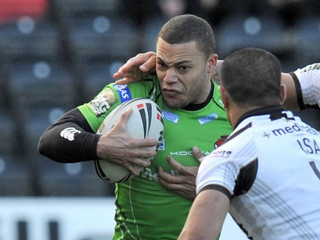 Danny Williams: Late try snatched it