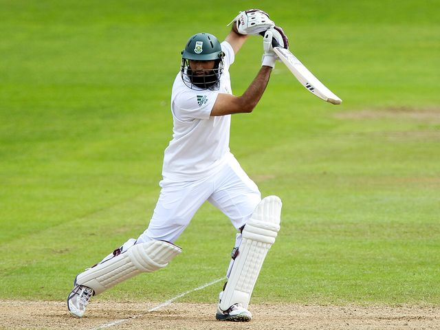 Hashim Amla: Top scored at Taunton