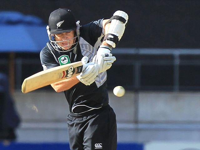 Nathan McCullum: Hit a vital half century