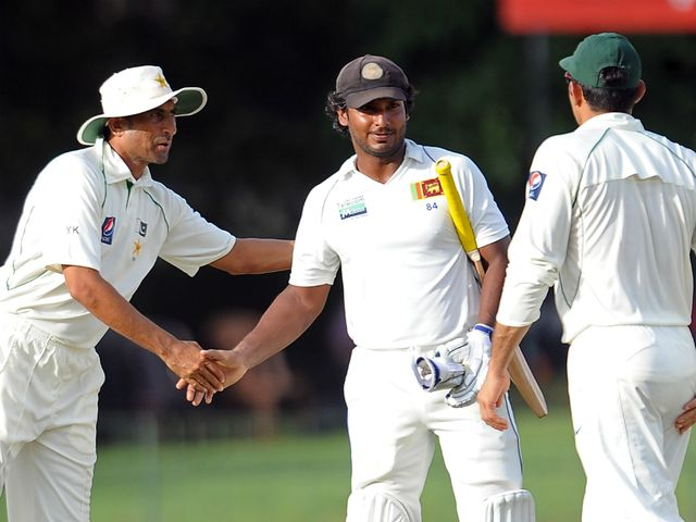 The second Test in Colombo was drawn
