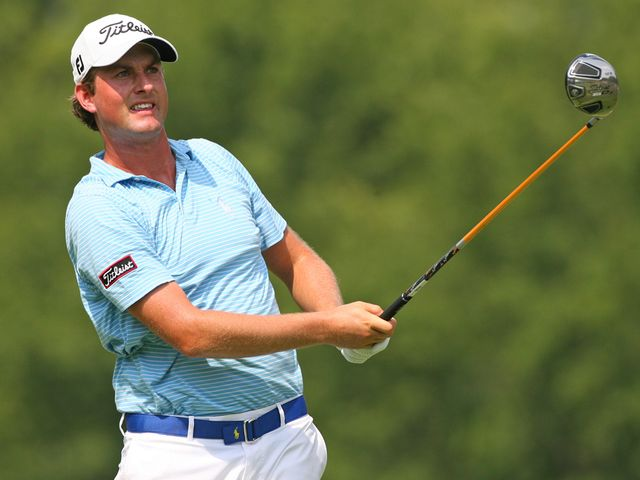 Webb Simpson: Carded a second 65