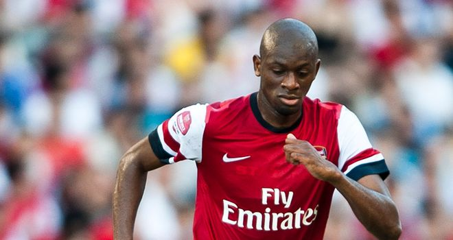 Abou Diaby: Frenchman relishing prospect of playing alongside Mikel Arteta
