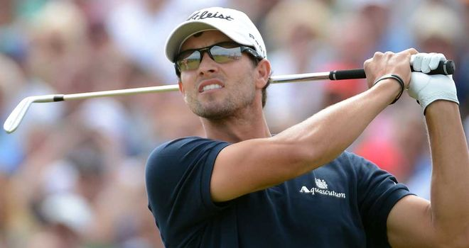 Adam Scott: Let four-shot lead with four holes to play slip at the Open