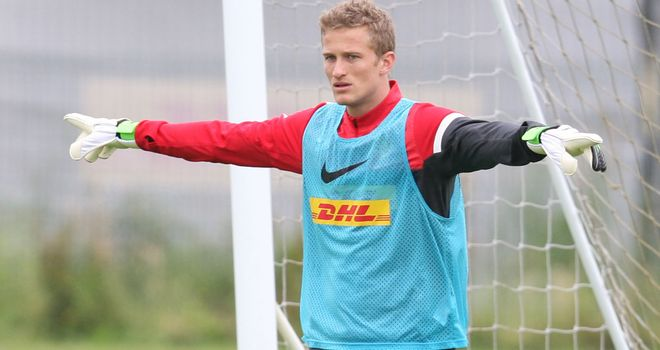 Anders Lindegaard: Rewarded with a new four-year deal at Old Trafford