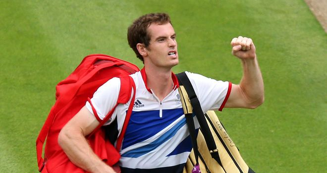 Andy Murray: Easy first round victory