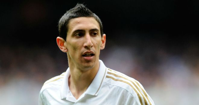 Angel di Maria: Real Madrid midfielder has signed a new contract to stay until 2018