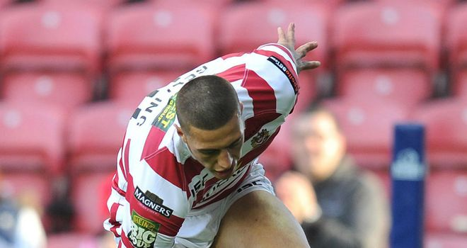 Anthony Gelling: Insists Wigan cannot take the Leeds Rhinos lightly on Saturday