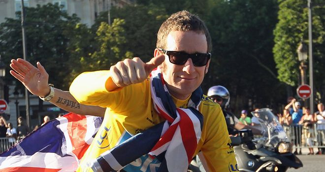 Bradley Wiggins became the Tour de France's first British winner