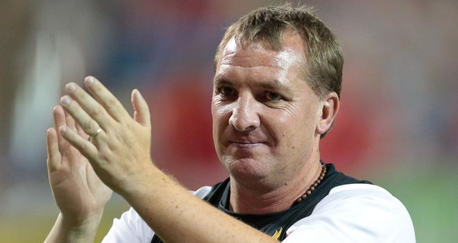 Brendan Rodgers: Pleased with Liverpool's fighting display against Gomel