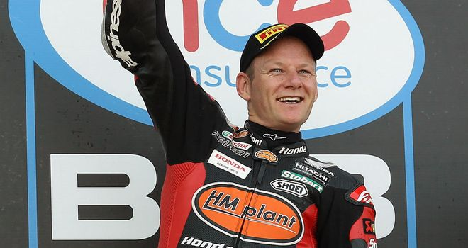 Shane Byrne: British Superbike champion for a third time