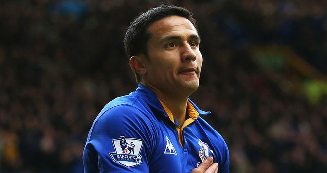 Tim Cahill: The New York Red Bulls man played almost 300 games for Everton since his £1.5m move from Millwall