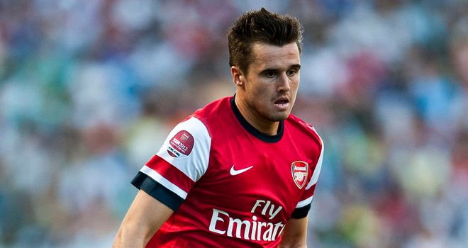 Carl Jenkinson: Arsenal right-back feels at home at the Emirates