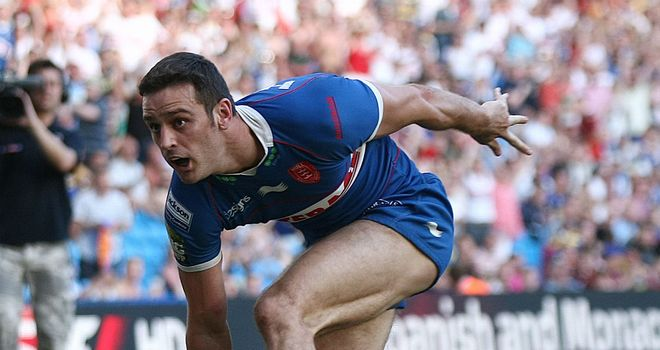 Criag Hall: Has signed a new two-year deal with Hull KR