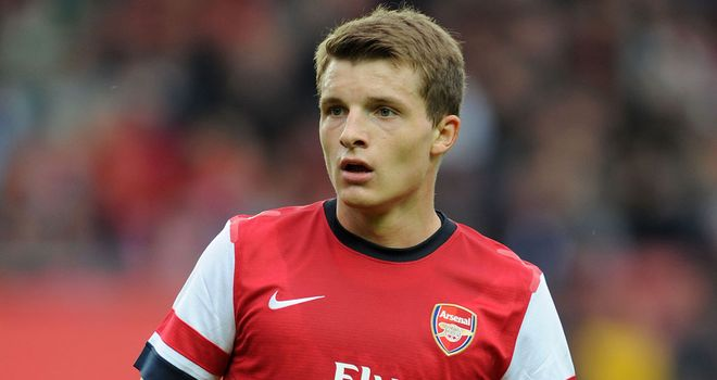 Thomas Eisfeld: His late equaliser was his second goal for Arsenal in pre-season