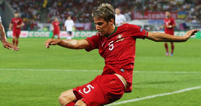 Fabio Coentrao: Scored last-minute equaliser for Portugal