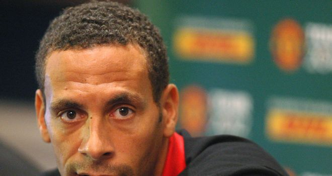 Rio Ferdinand: The centre-back seemingly endorsed the term 'choc-ice' on Twitter