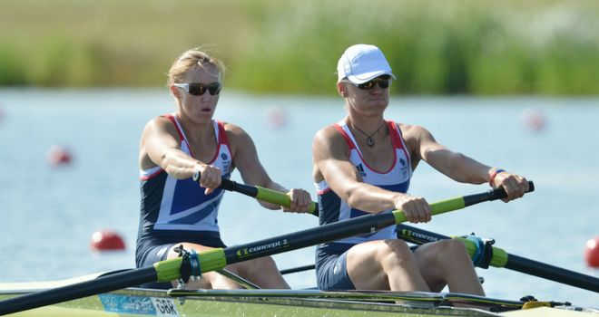 Glover and Stanning: New Olympic champions