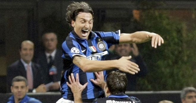 Zlatan Ibrahimovic and Maxwell have previously played together at Ajax, Inter (pictured) and Barcelona