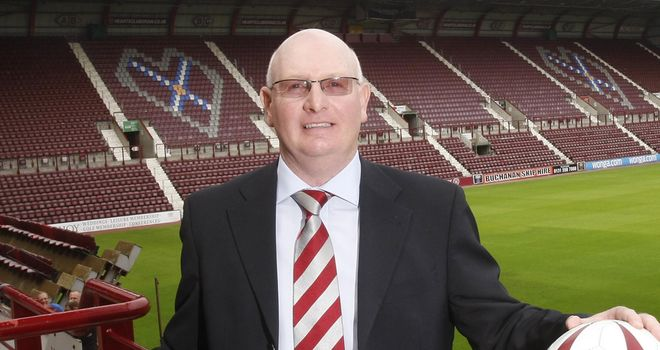 John McGlynn: Looking forward to a big crowd at Tynecastle