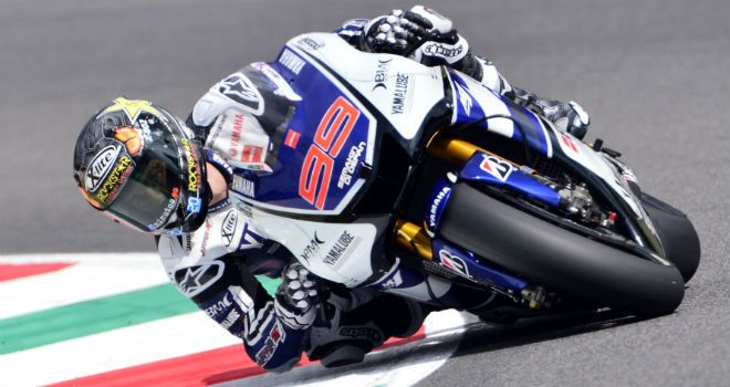 Jorge Lorenzo: Set new lap record
