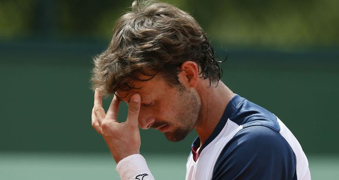 Juan Carlos Ferrero: Easily beaten by Mate Pavic