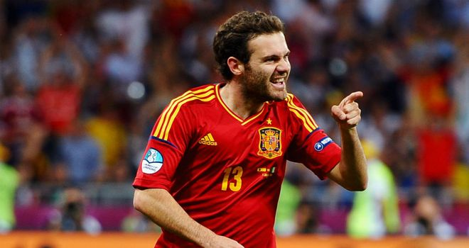 Juan Mata: Back in a Spanish kit