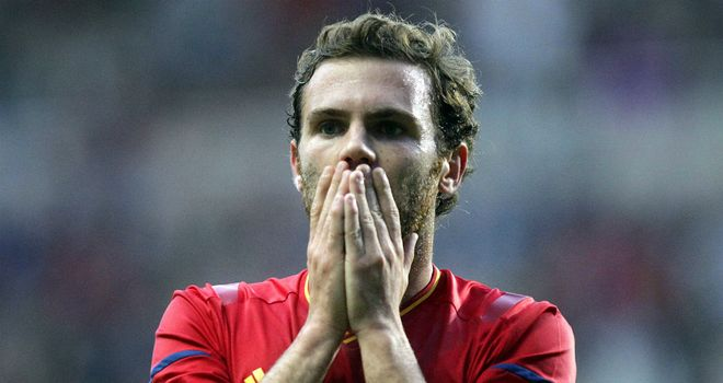 Juan Mata: Omitted from Vicente Del Bosque's Spain squad