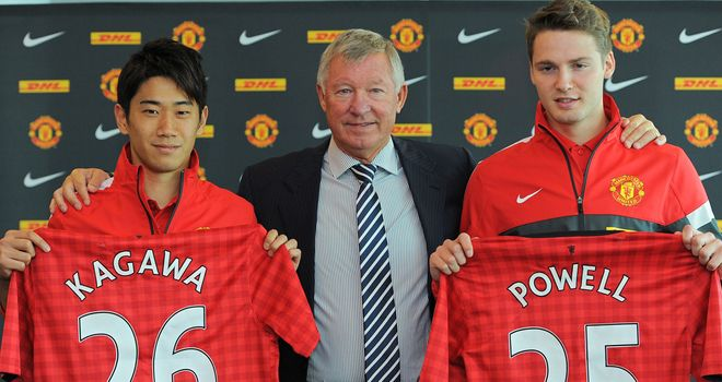 Nick Powell: Welcomed to Old Trafford by Sir Alex Ferguson