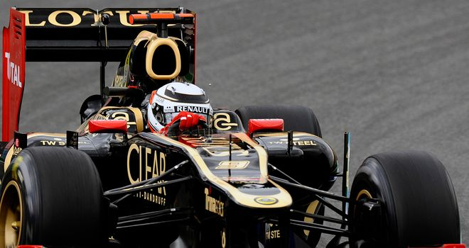 Kimi Raikkonen: Eyeing a Lotus win this weekend