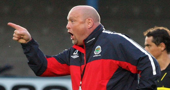 David Jeffrey: Linfield manager to bring his team to Ibrox