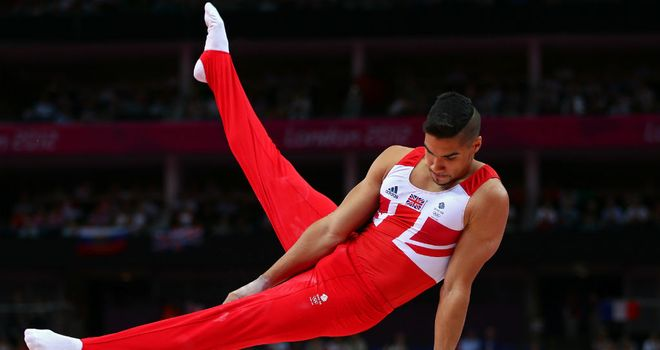 Louis Smith: prepared to gamble in his bid for pommel horse gold