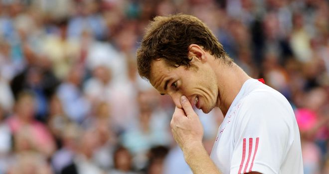 Andy Murray: Taking a break from tennis