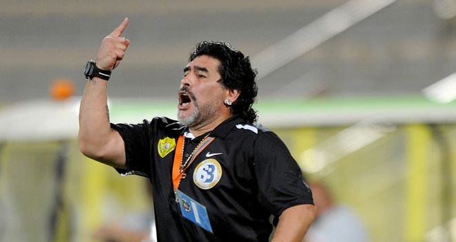 Diego Maradona: Montpellier chairman Louis Nicollin open to talks