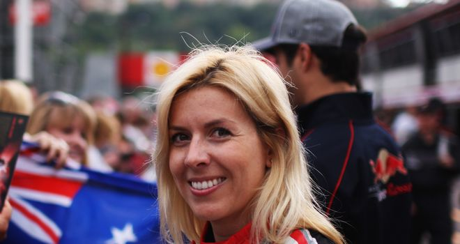 Maria de Villota: Condition has been downgraded from critical to 'serious but stable'
