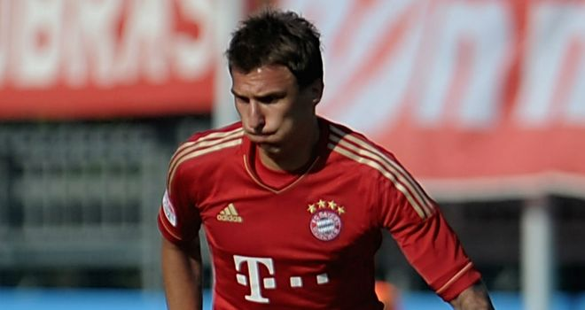 Mario Mandzukic: On target for Bayern Munich against Fortuna Dusseldorf